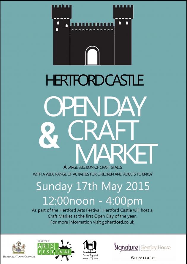 events hertford castle craft market open day hertford castle 17052015