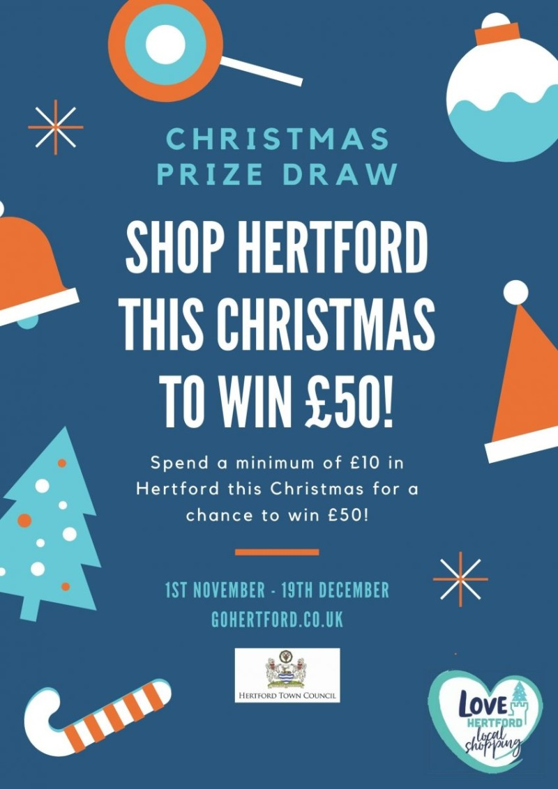 Hertford Christmas Competition Poster