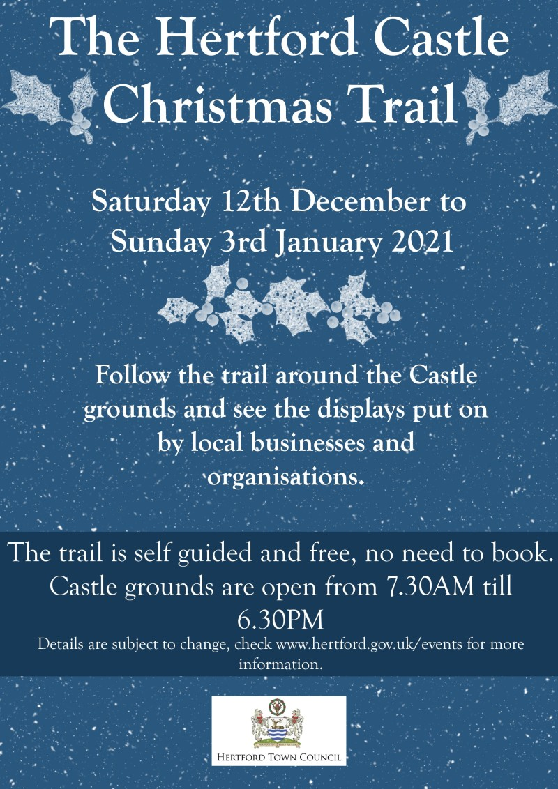 Hertford Castle Trail Poster