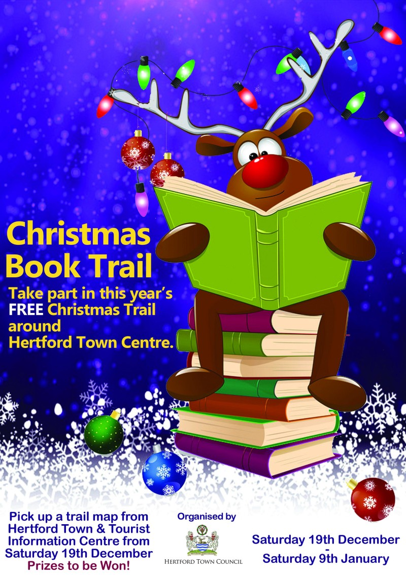 Christmas Book Trail Poster