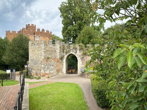 Find Out More About Hertford Castle Moat Garden